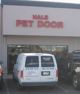 Hale Pet Door Store Location Greenwood Village, Colorado
